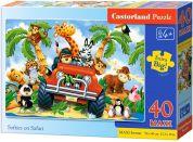 Castorland Puzzle Safari 40 maxi dílků