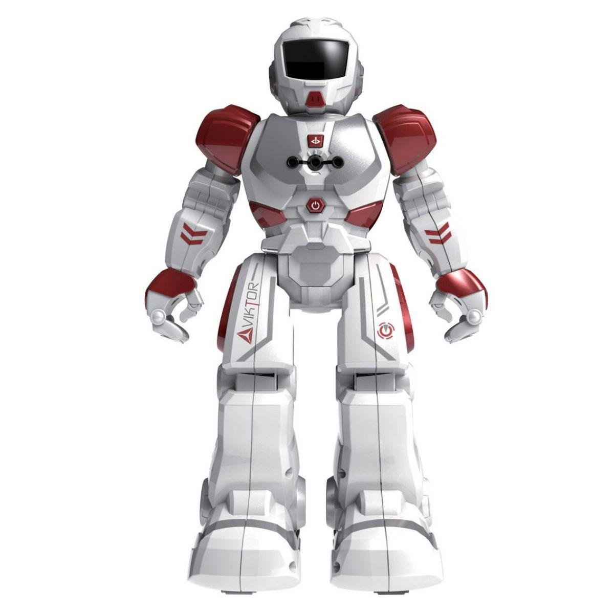 Červený Robot Viktor na IR dálkové ovládání