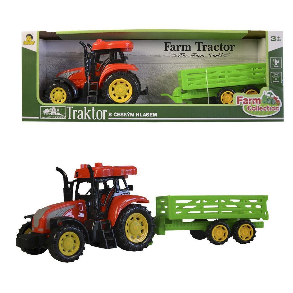 Česky mluvící Traktor s přívěsem IC