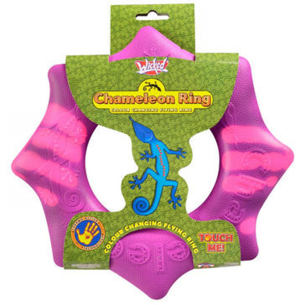 Chameleon létající kruh 24 cm - Fialová