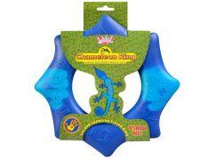 Chameleon létající kruh 24 cm - Modrá