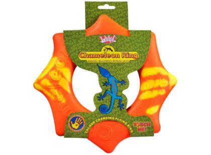 Chameleon létající kruh 24 cm - Oranžová