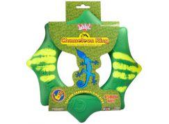 Chameleon létající kruh 24 cm - Zelená