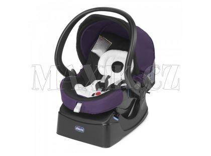 Chicco Autosedačka Auto-Fix Fast se základnou Lavender