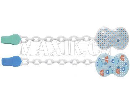 Chicco Řetízek plast modrý