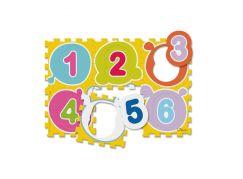 Chicco Hračka puzzle pěnové Čísla 6 ks