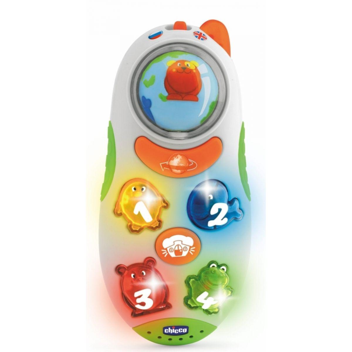 Chicco Mluvící telefon Čj/Aj
