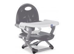 Chicco Podsedák přenosný Pocket Snack na židli Dark Grey