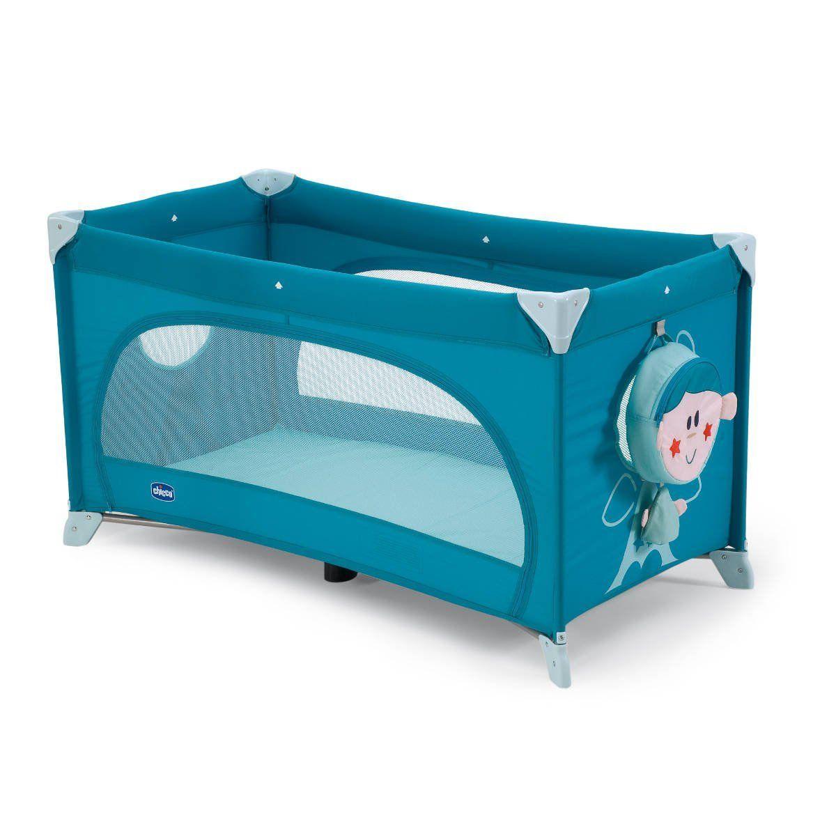 Chicco Postýlka Easy Sleep Light blue