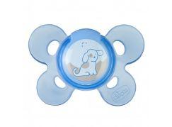 Chicco Šidítko Physio Comfort, silikonové, 0-6m, modré