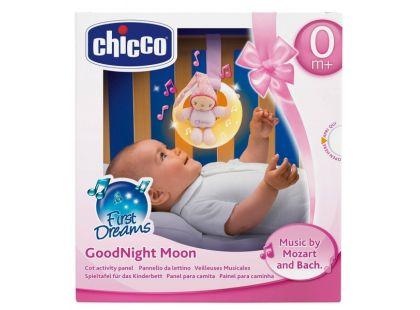 Chicco Skřítek měsíček hrající růžový