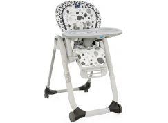 Chicco Židlička jídelní Polly Progres5 - Anthracite - Poškozený obal