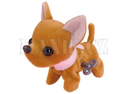 ChiChi Love Sweet Snappy pes - Hnědá