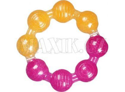 Chladivé gelové kousátko kroužek Munchkin - Fialovo-oranžová