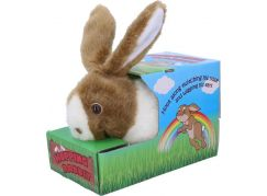 Chodící plyšový králíček 22 cm