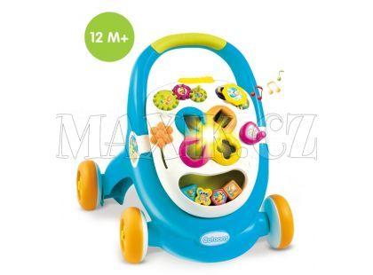Chodítko Cotoons Walk&Play Smoby 211376 - Modrá