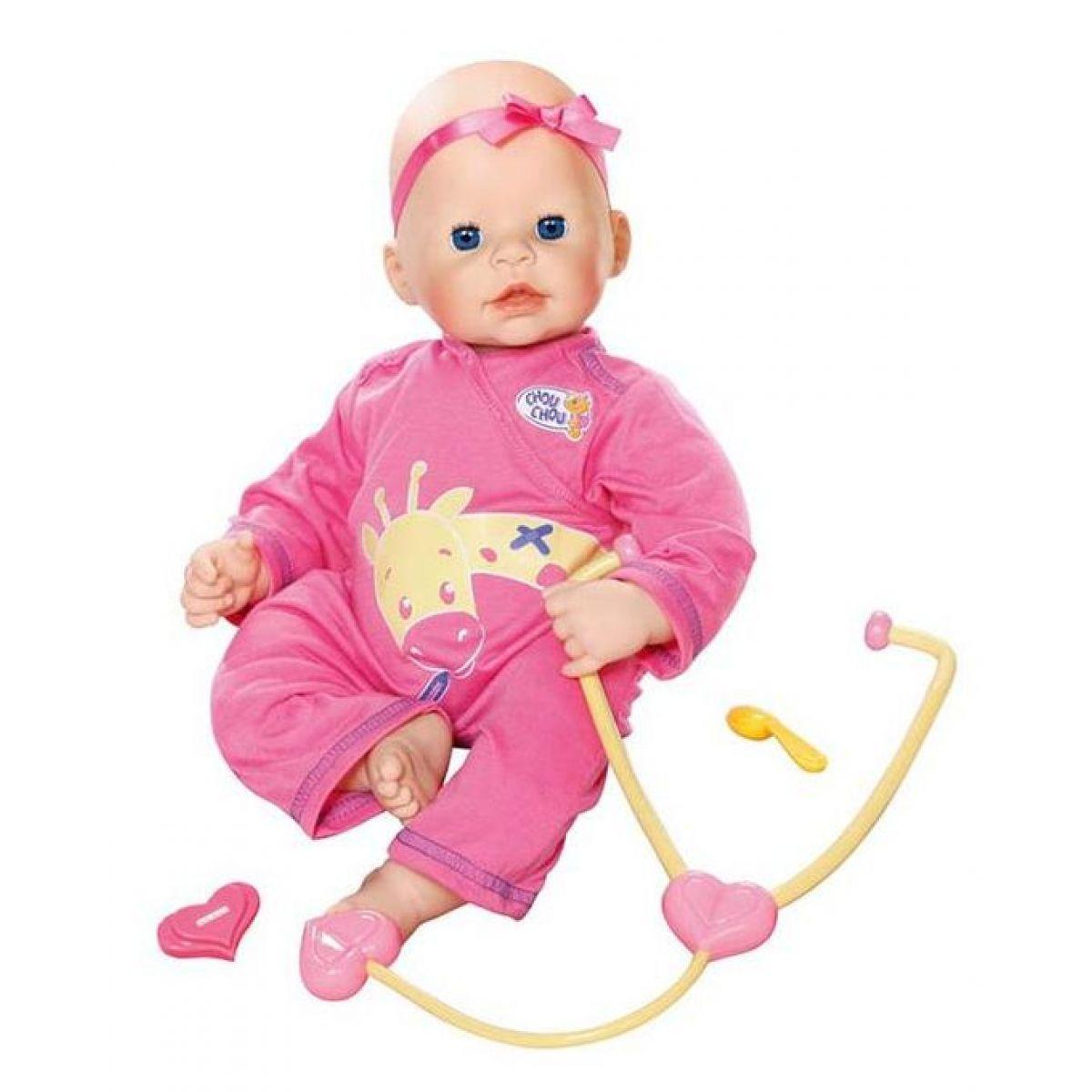 Chou Chou Nemocná panenka 42cm