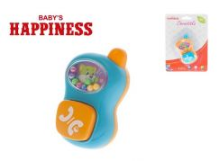 Chrastítko telefonek s kuličkami Babys Happiness