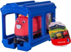 Chuggington Mašinka s garáží Jackman