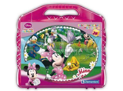 Clementoni 24 kostek v kufříku - Mickey Mouse