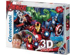 Clementoni Avengers 3D Vision Puzzle 104d