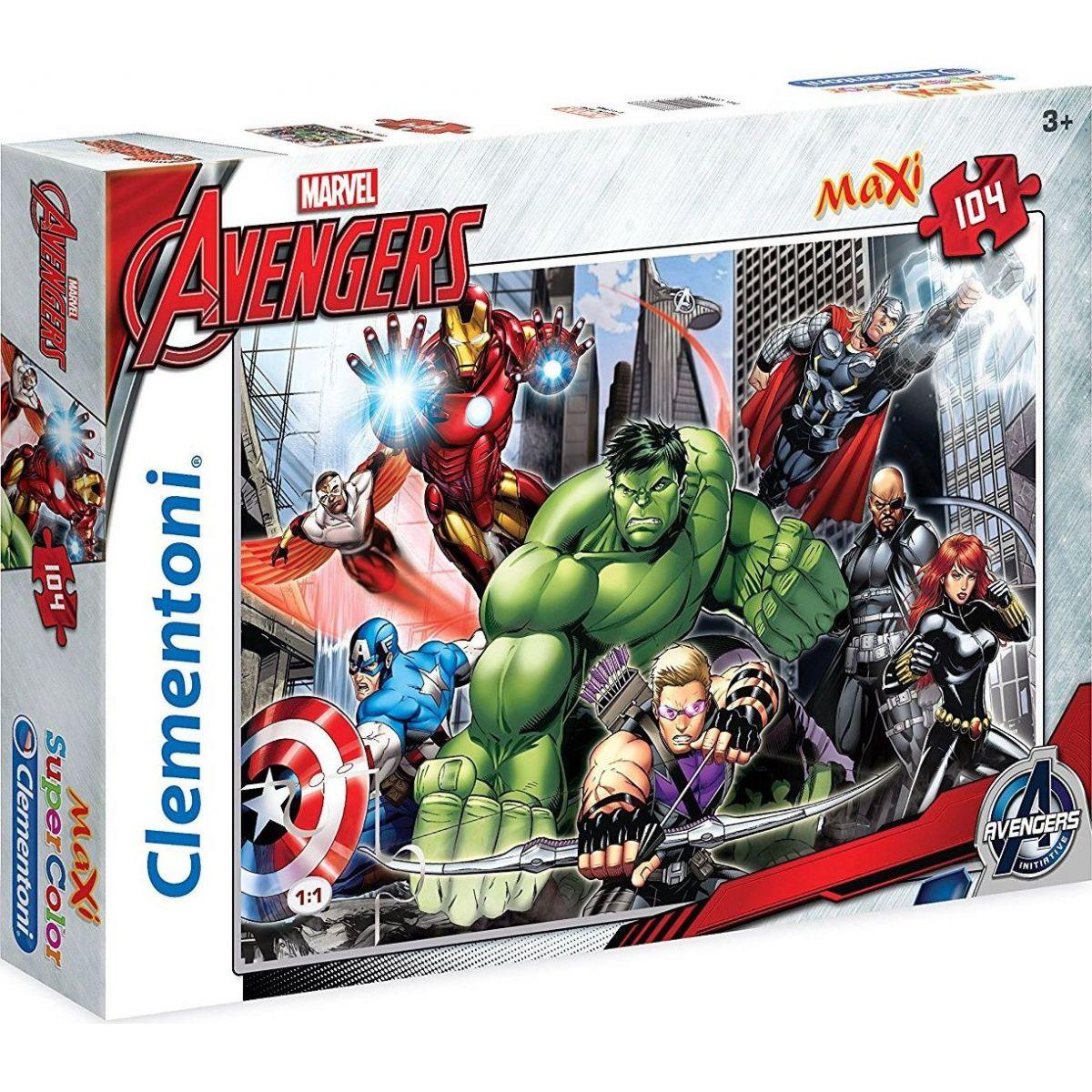 Clementoni Avengers Supercolor Puzzle Maxi 104d