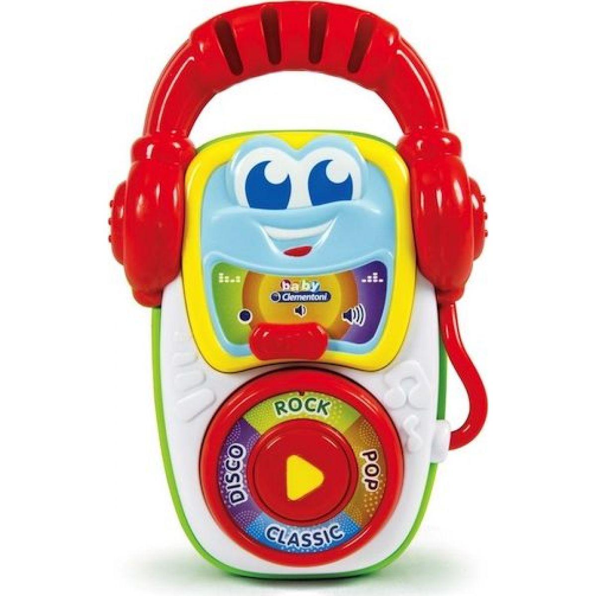 Clementoni Baby Můj první MP3 přehrávač