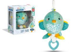 Clementoni Baby Plyšová zvonkohra ptáček