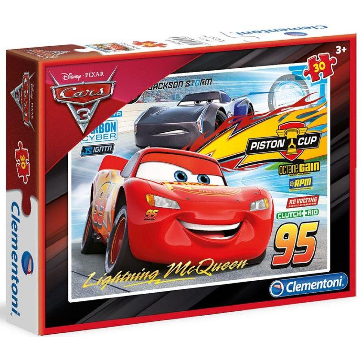 Clementoni Cars Puzzle 30 dílků