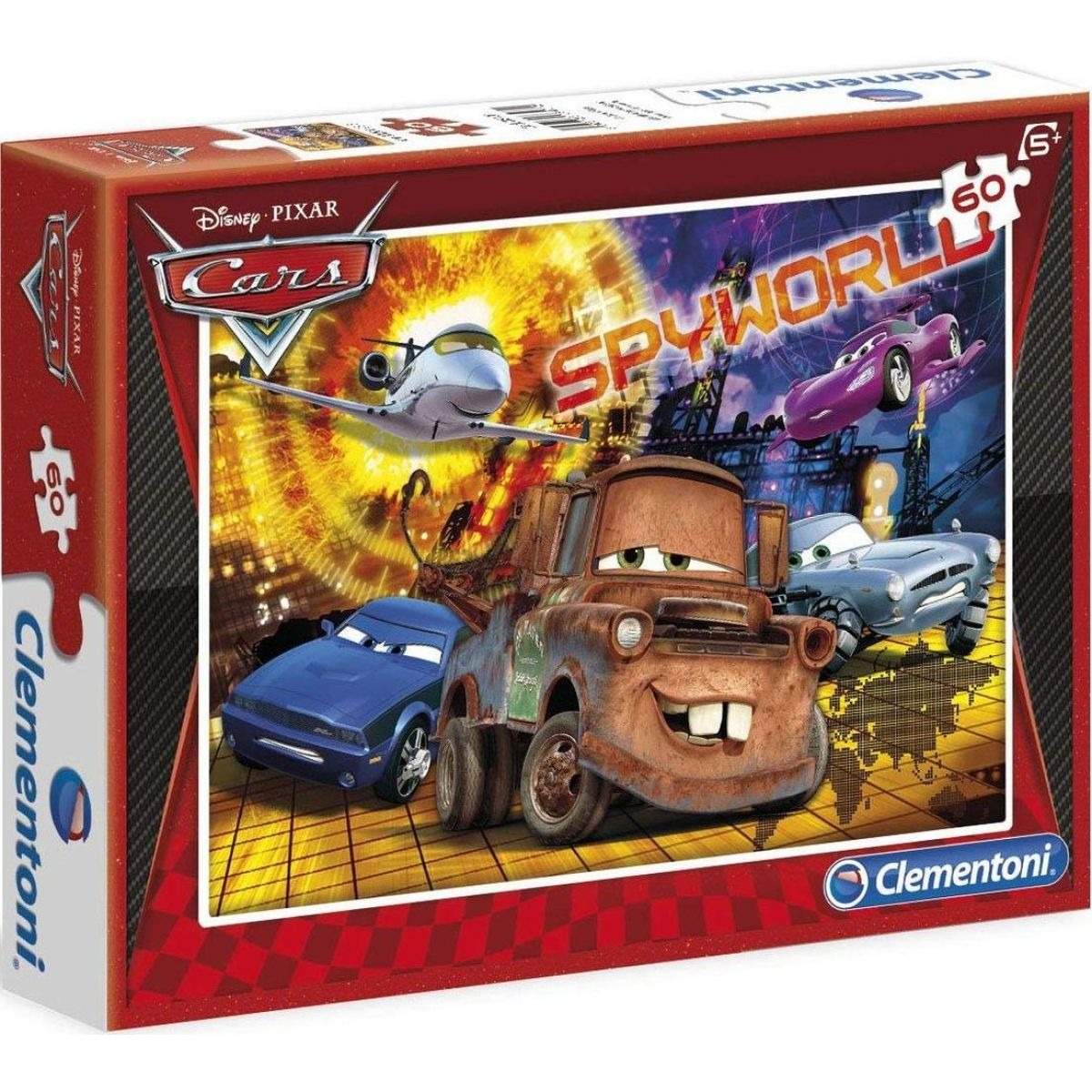 Clementoni Cars Puzzle 60 dílků