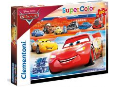 Clementoni Cars Puzzle Supercolor 250 dílků