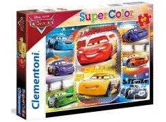 Clementoni Cars Puzzle Supercolor 60 dílků