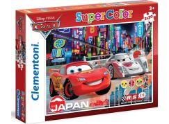 Clementoni Cars Puzzle Supercolor Auta 2x20d