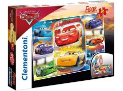 Clementoni Cars Puzzle Supercolor Floor 40 dílků