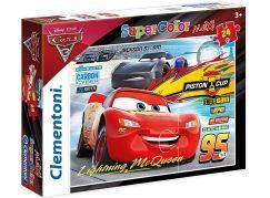 Clementoni Cars Puzzle Supercolor Maxi 24 dílků