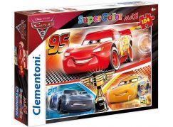 Clementoni Cars Puzzle Supercolor Maxi 60 dílků