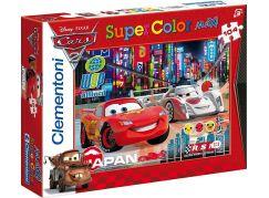 Clementoni Cars Puzzle Supercolor Maxi Auta 104d
