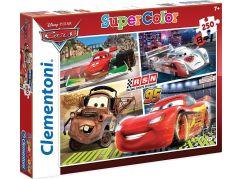 Clementoni Cars Supercolor Auta RSN Puzzle 250d