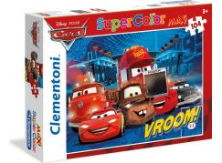 Clementoni Cars Supercolor Puzzle Maxi 104d