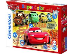Clementoni Cars Supercolor Team McQueen Maxi Puzzle 60d