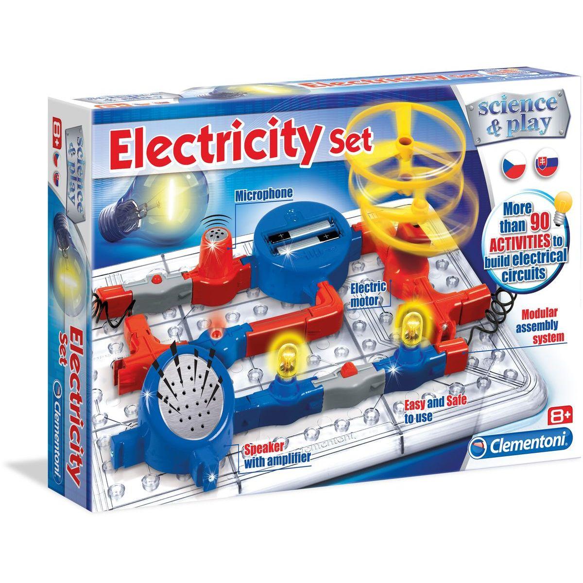 Clementoni Dětská laboratoř Elektronická sada