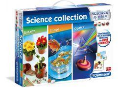 Clementoni Dětská laboratoř Vědecká kolekce 3 v 1
