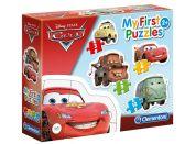 Clementoni Disney Cars Puzzle Auta 3+6+9+12