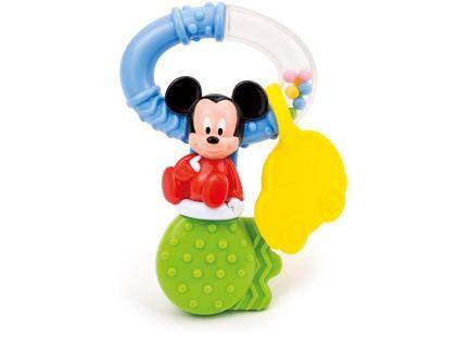 Clementoni Disney Chrastítko ve tvaru klíče Mickey