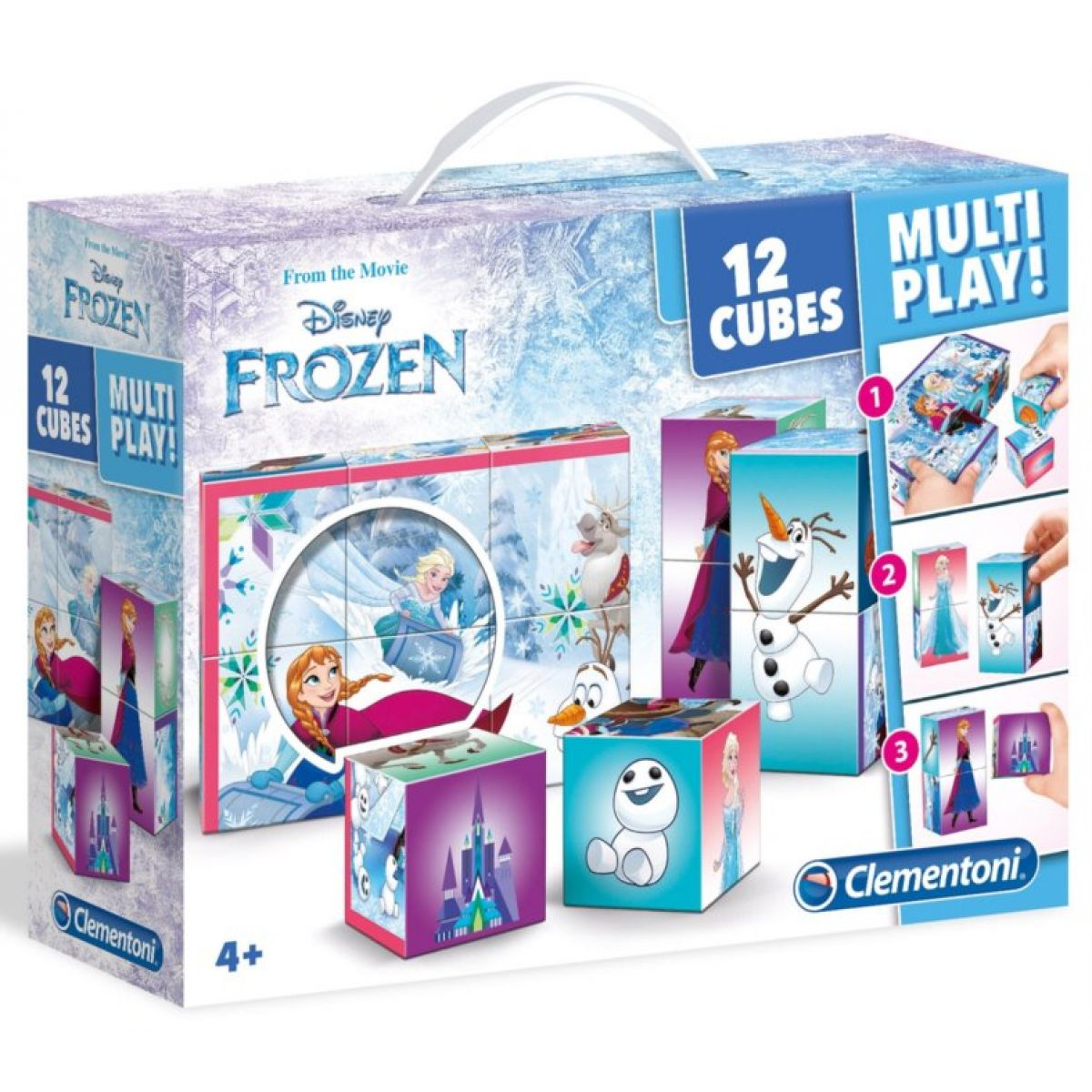 Clementoni Disney Kostky Frozen Multi Play 12 kostek