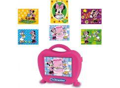 Clementoni Disney Kostky v kufříku Minnie 6ks