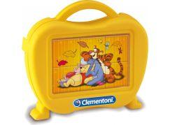 Clementoni Disney Medvídek Pú Kostky v kufříku 6ks