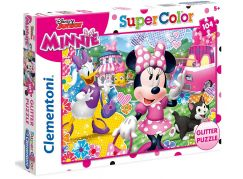 Clementoni Disney Minnie Puzzle Supercolor Glitter 104 dílků