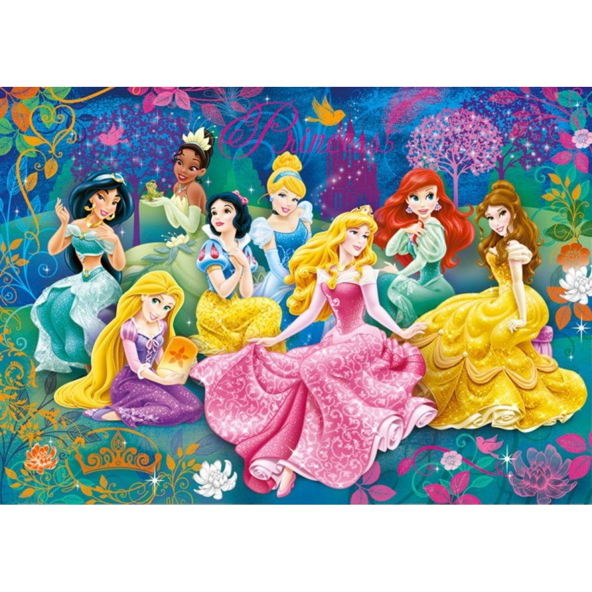 Clementoni Disney Princess Puzzle 3D Vision 104 d #2