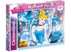 Clementoni Disney Princess Puzzle Briliant 104 dílků